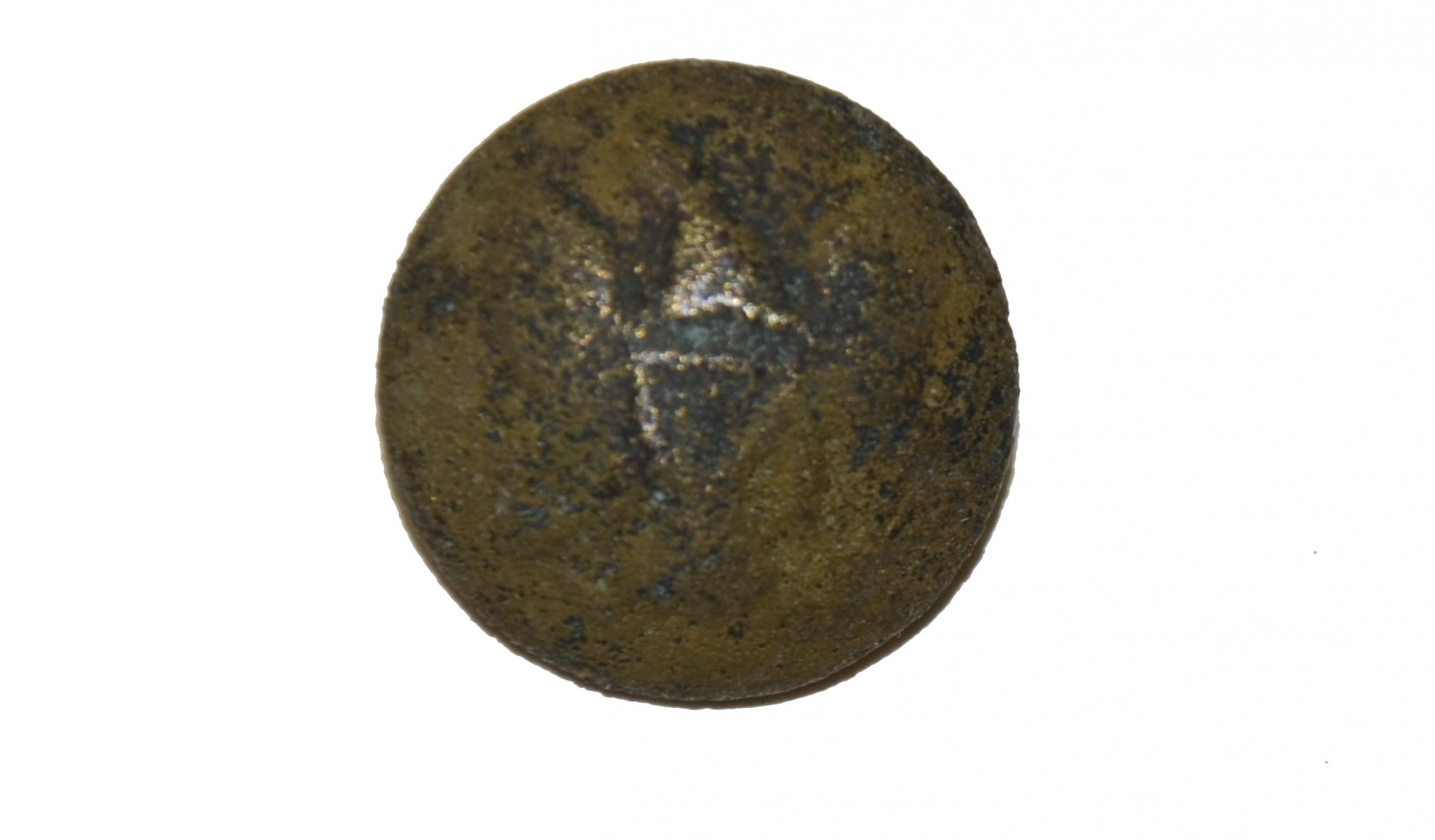US GENERAL SERVICE EAGLE COAT BUTTON RECOVERED NEAR WILLOUGHBY RUN