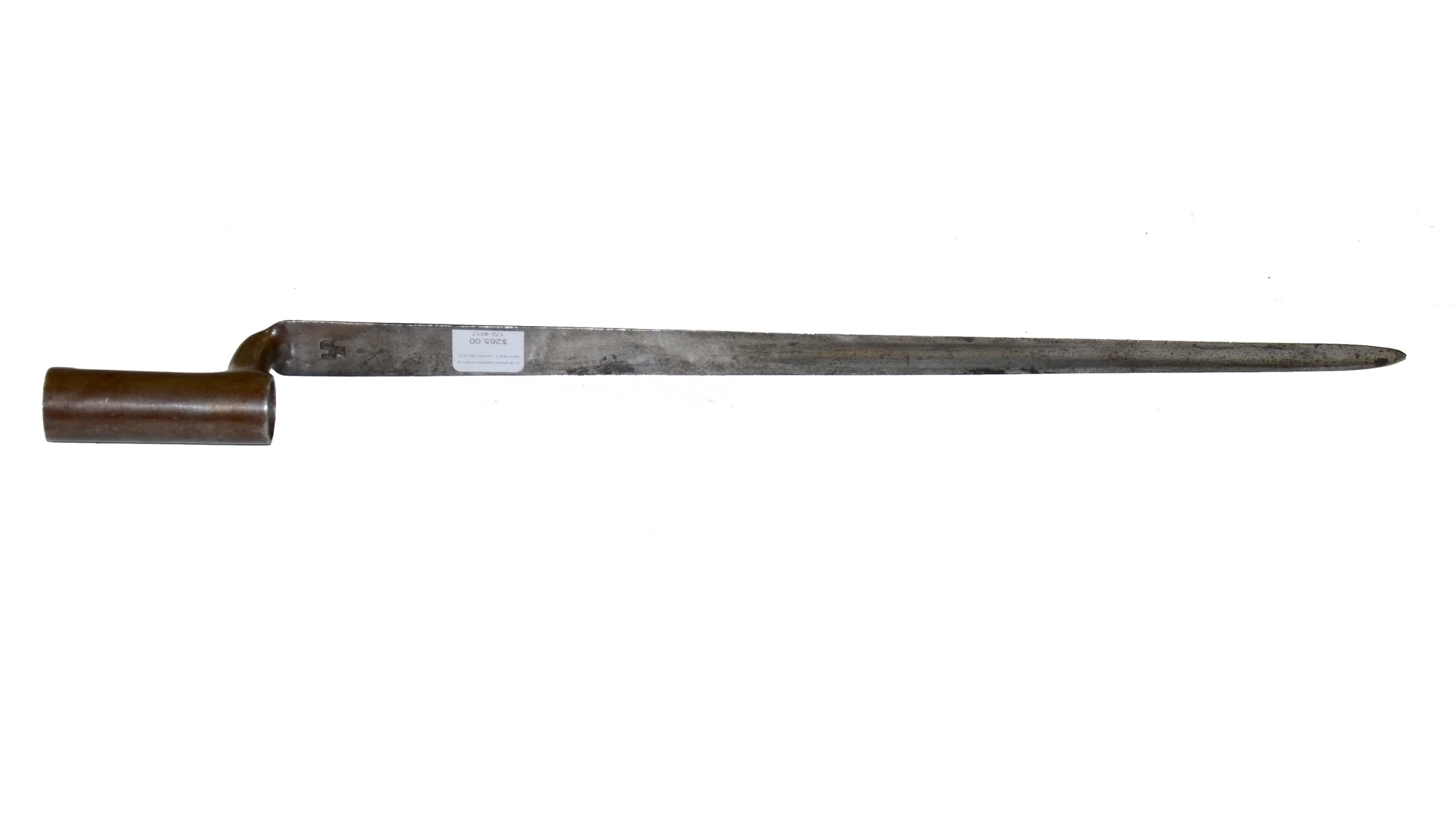 US MODEL 1816 SOCKET BAYONET MADE AT HARPER'S FERRY