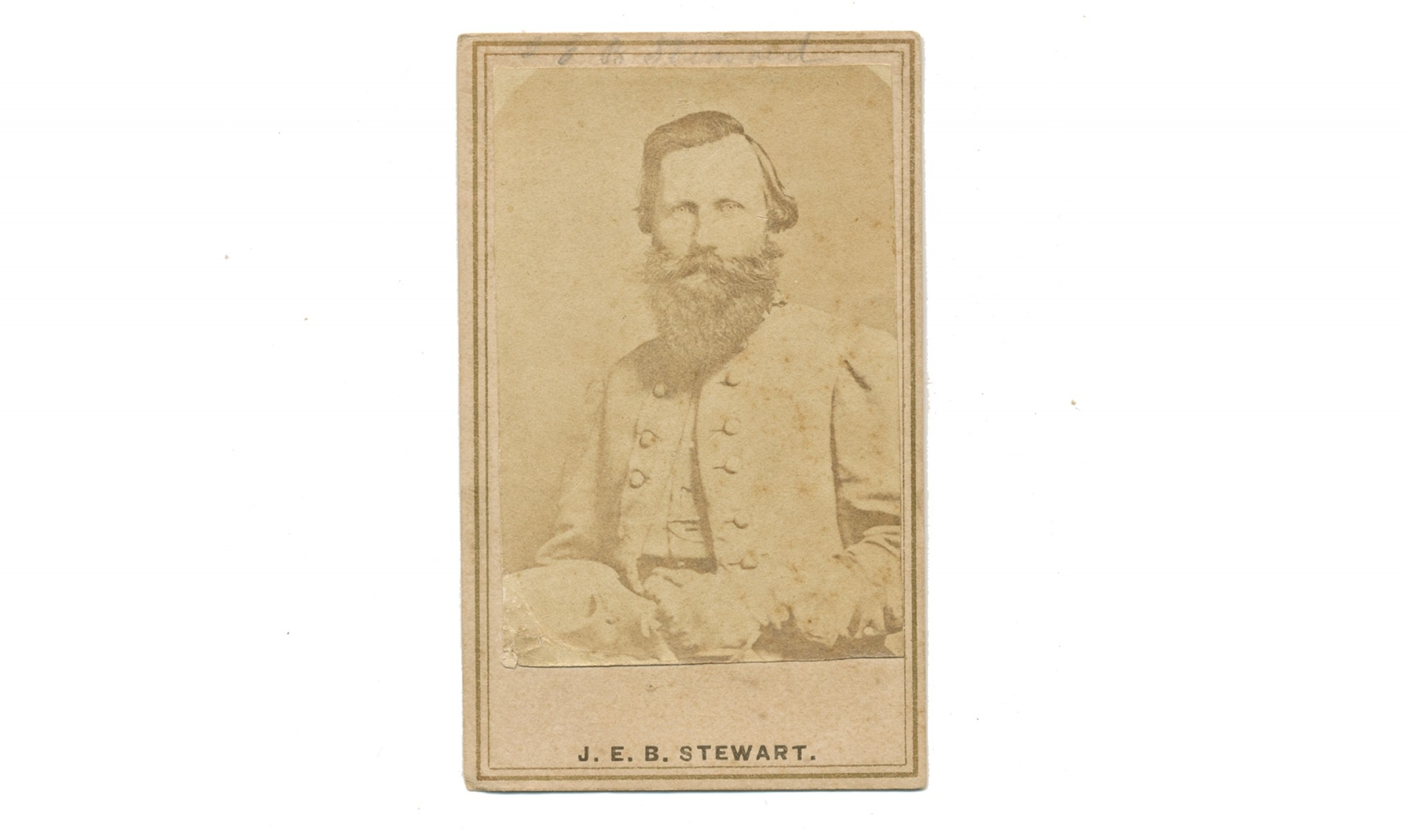 CDV OF CS GENERAL JEB STUART