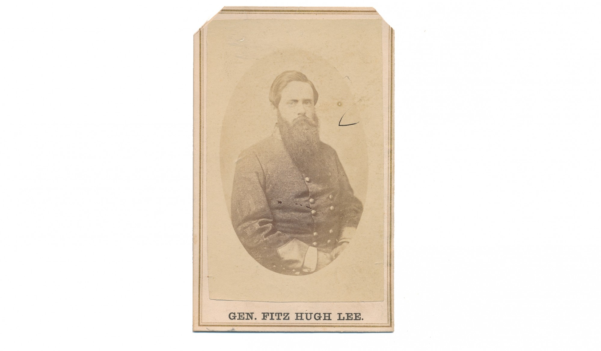 CDV OF CS GENERAL FITZHUGH LEE