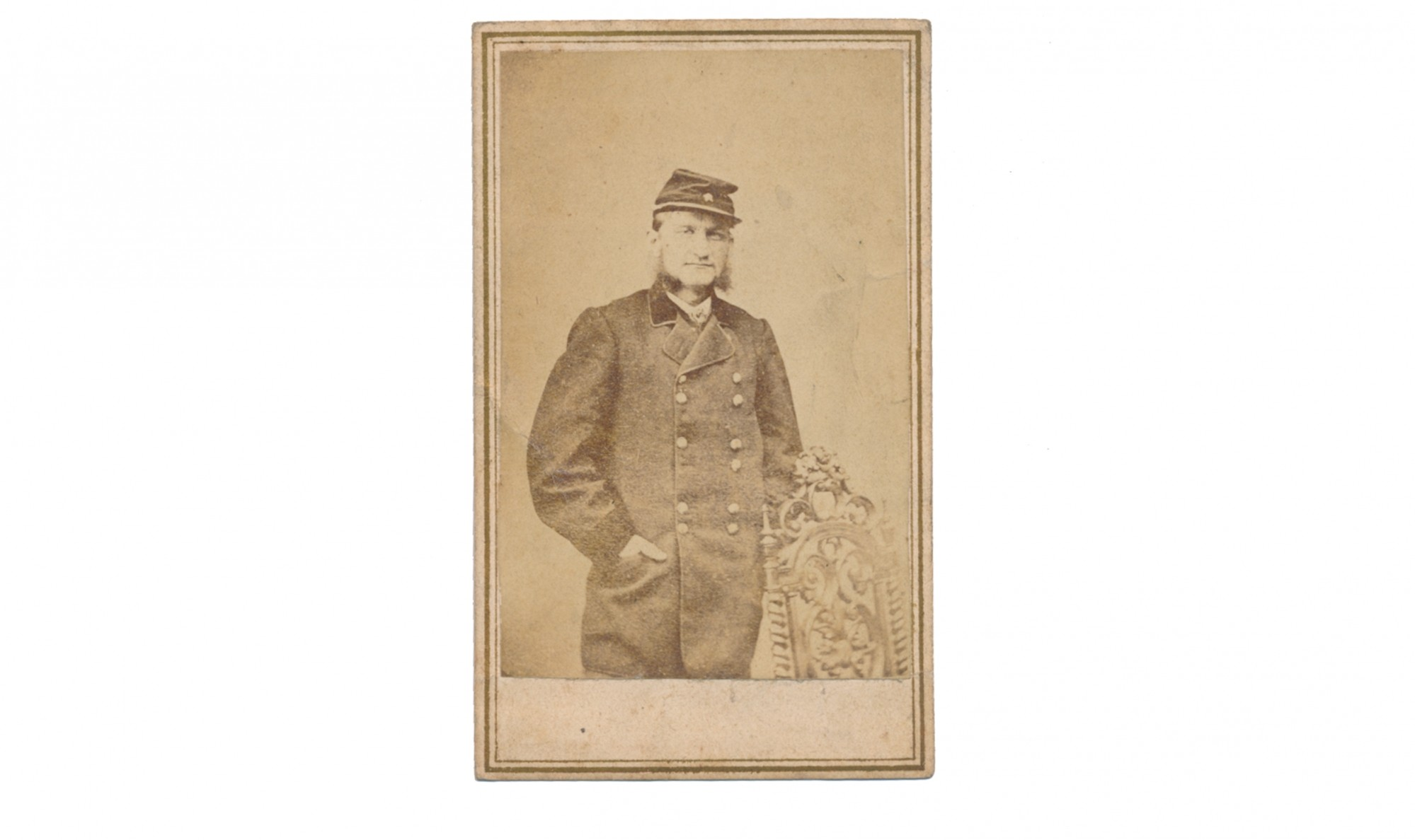 CDV OF US GENERAL HUGH JUDSON KILPATRICK