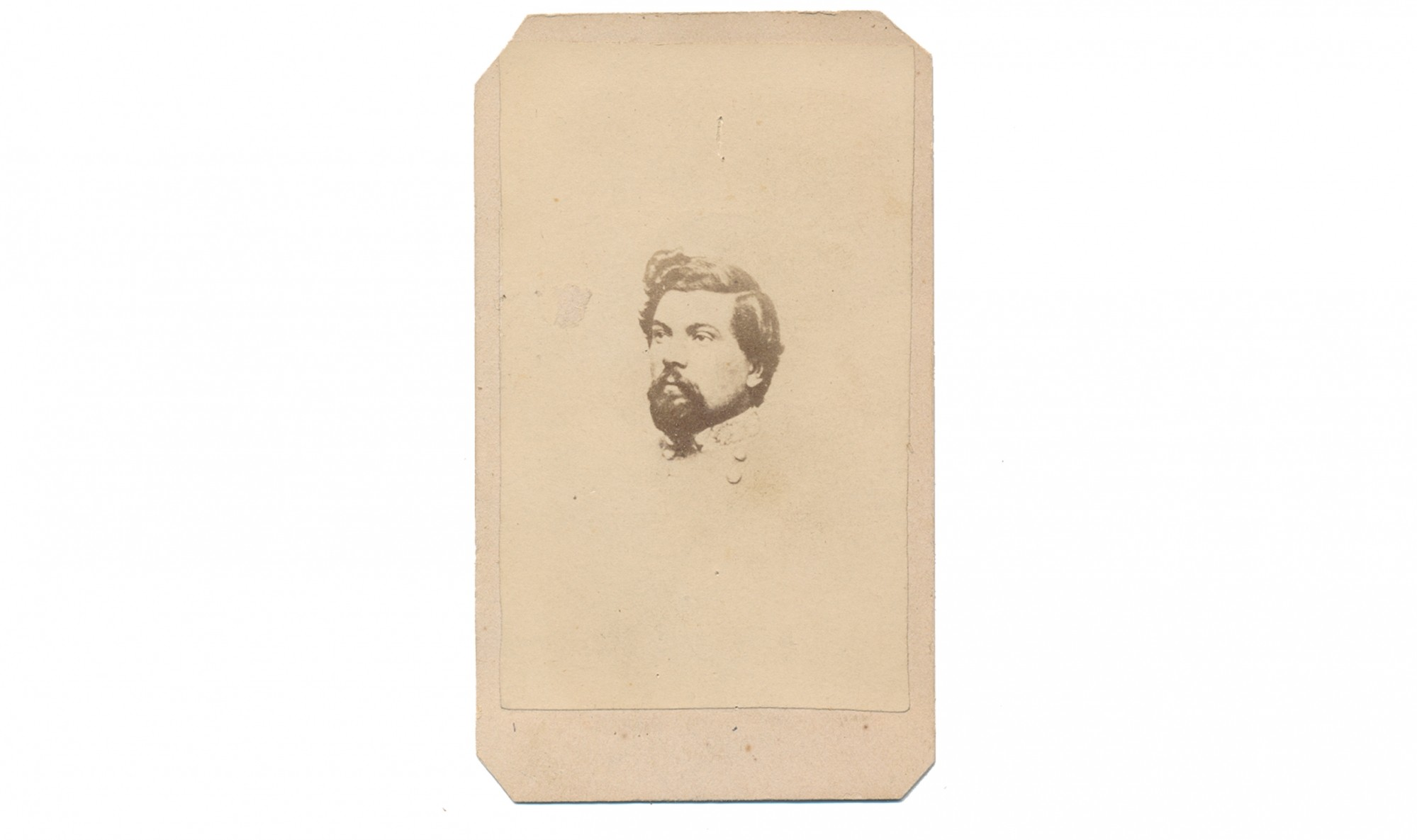 CDV OF CS MAJOR GENERAL THOMAS LAFAYETTE ROSSER