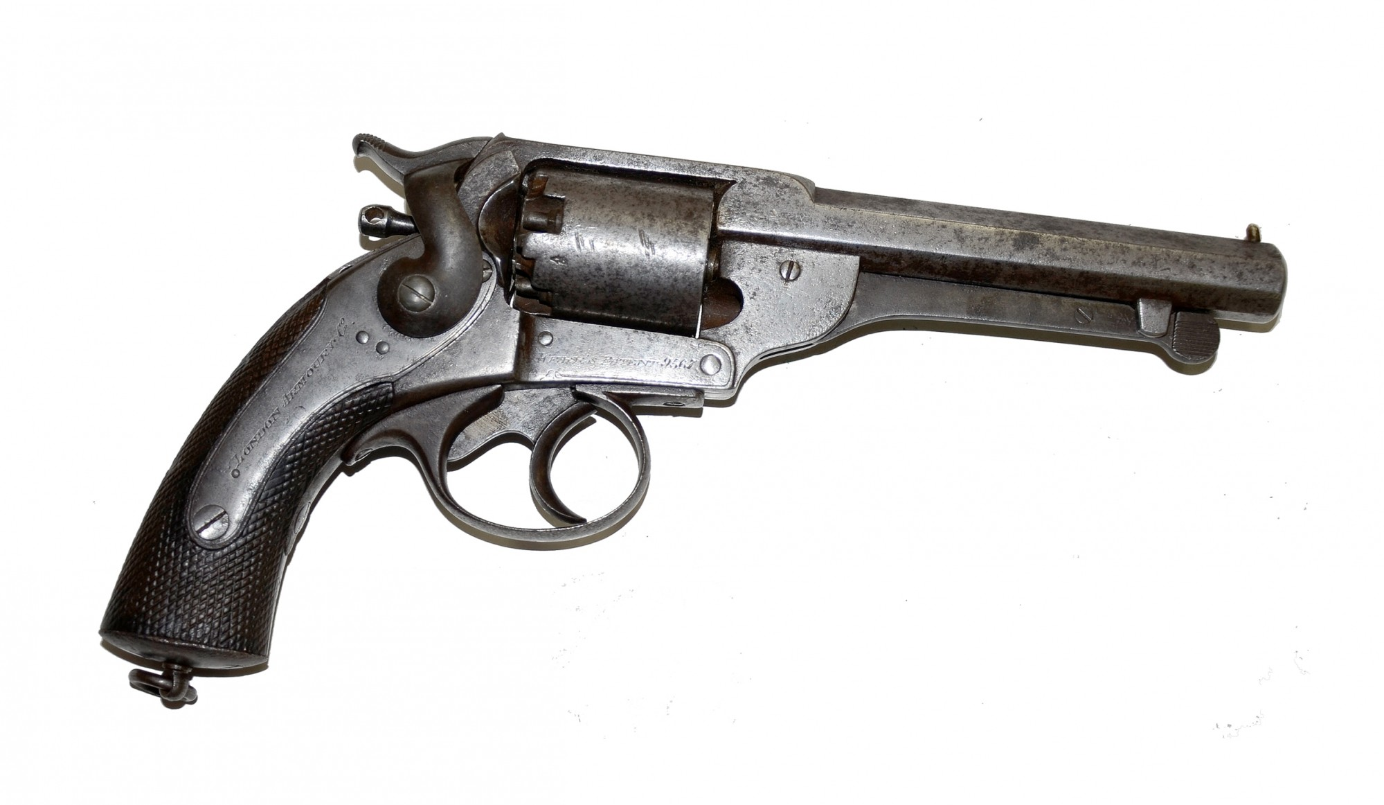 CONFEDERATE USED LONDON ARMOURY COMPANY KERR'S PATENT REVOLVER