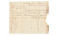 ARMY OF TENNESSEE STAFF LETTER - CONFEDERATE CORPS OF ENGINEERS, CAPT. R.P. ROWLEY