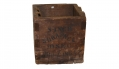 US CIVIL WAR SHIPPING CRATE FOR A NAVAL SPHERICAL SHELL