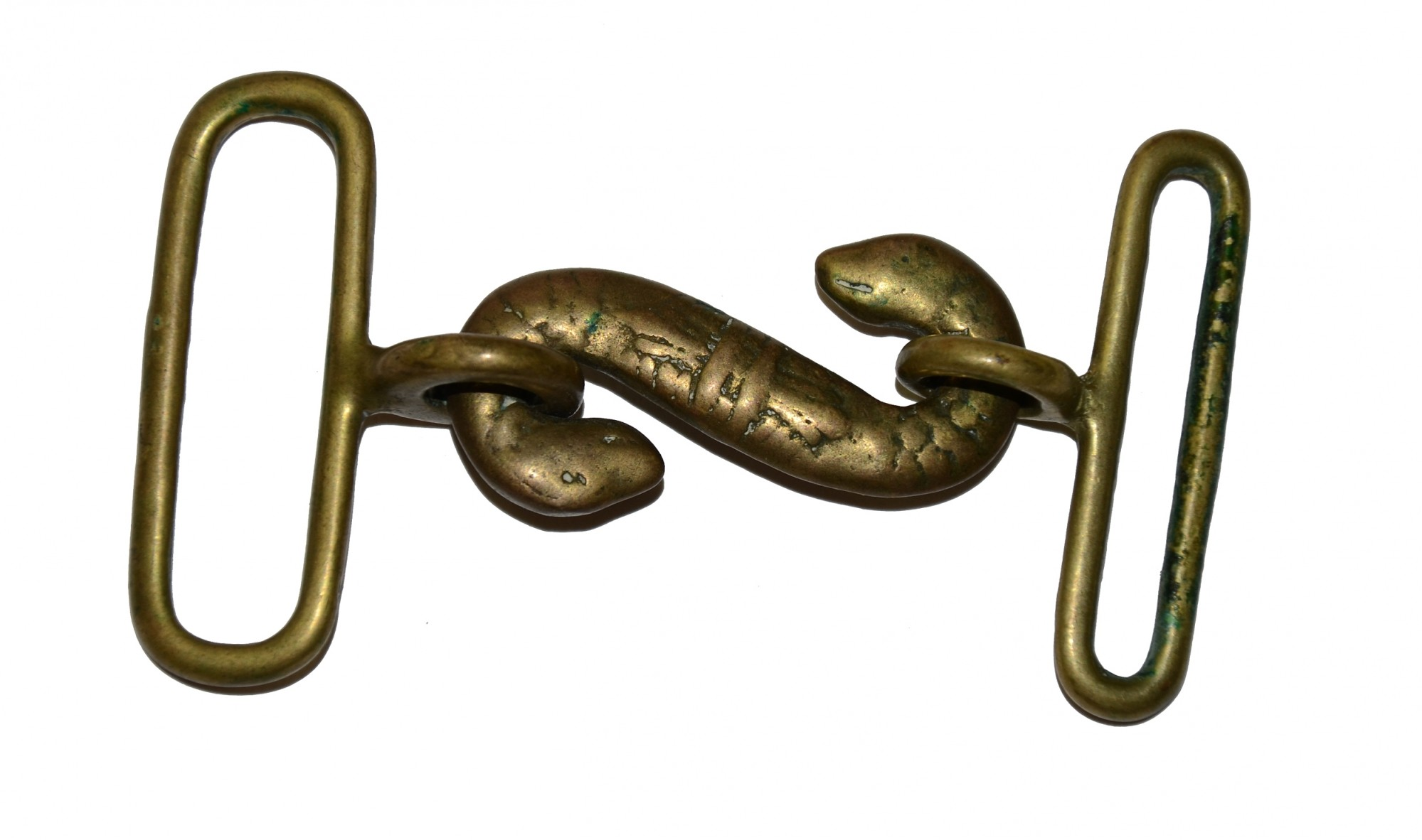 POST-CIVIL WAR SNAKE BUCKLE