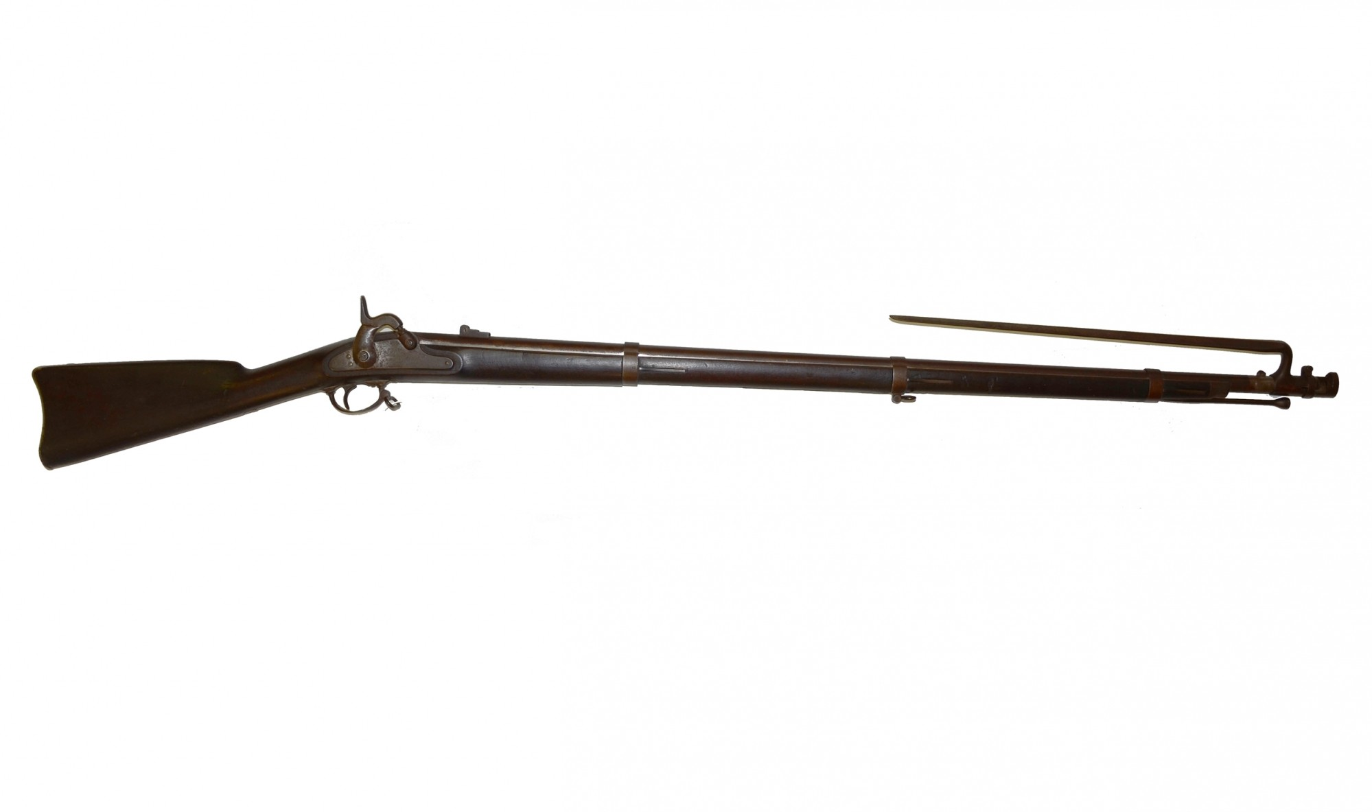 UNTOUCHED M1861 U.S. PERCUSSION 'TRENTON' CONTRACT MUSKET