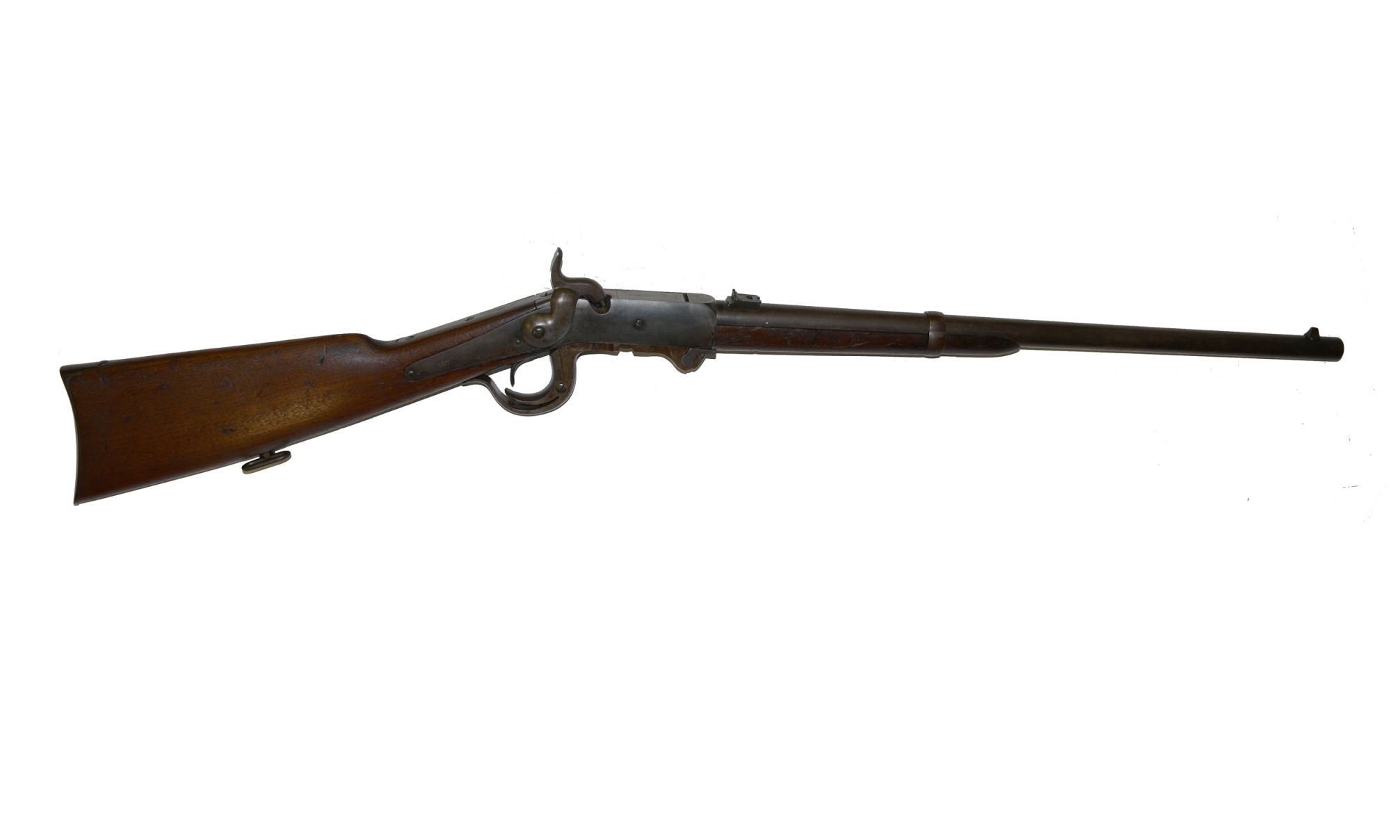 ORIGINAL 5TH MODEL BURNSIDE CARBINE WITH MIS-MATCHED SERIAL NUMBERS
