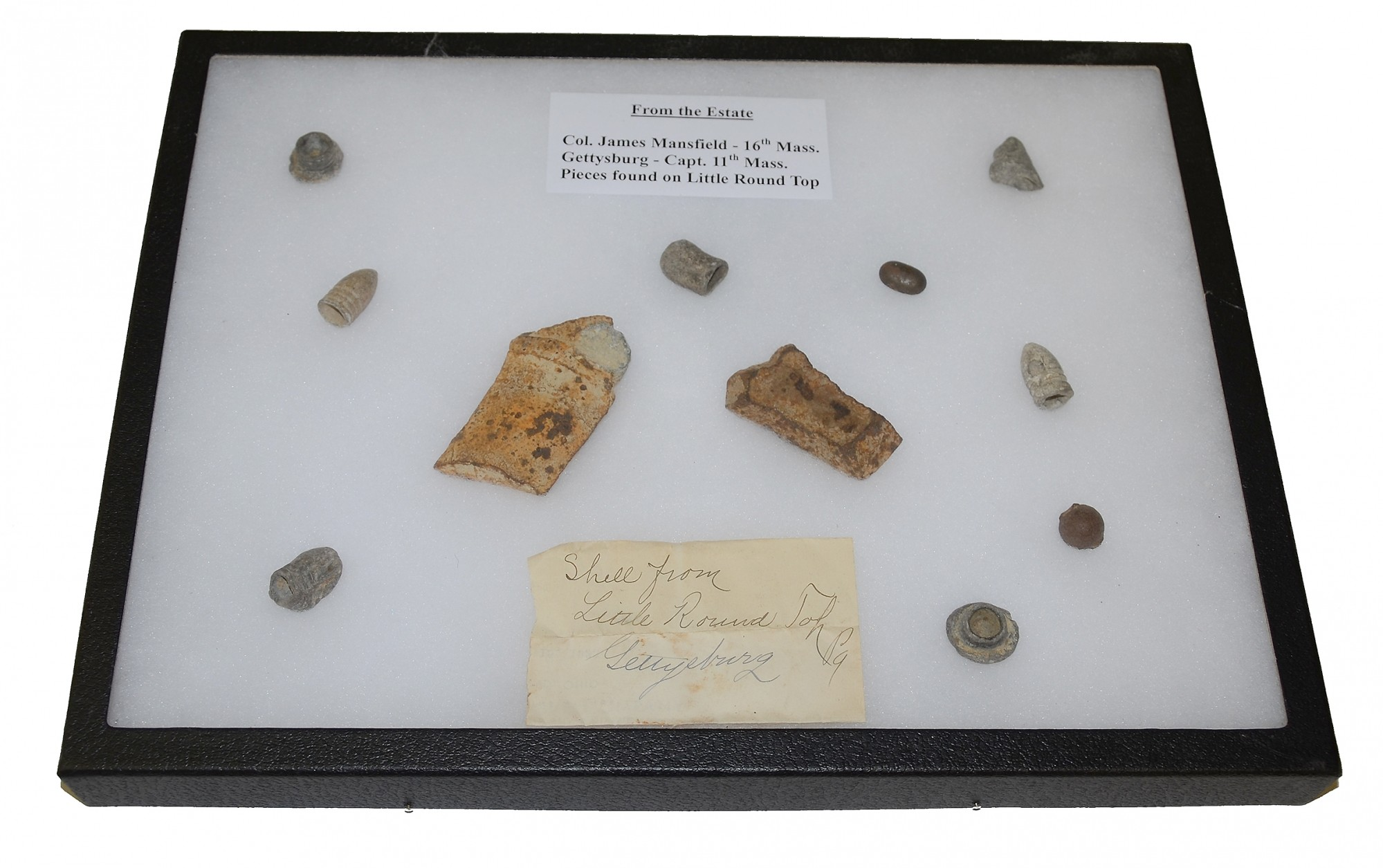 GETTYSBURG RELICS PICKED UP BY VETERAN