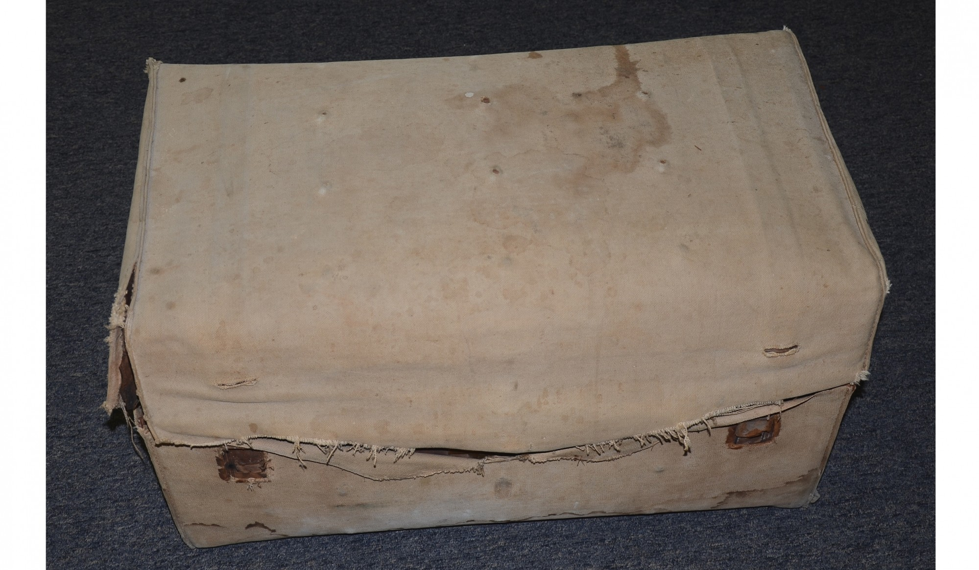CAMP TRUNK IDENTIFIED TO SURGEON OF THE 4TH NEW HAMPSHIRE