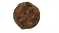 "US 4.52"" 12 PDR CANISTER BALL RECOVERED AT THE TROSTLE FARM, GETTYSBURG"