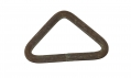CS BRASS TRIANGULAR KNAPSACK HOOK RECOVERED AT THE TROSTLE FARM, GETTYSBURG