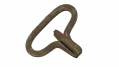 CS BRASS KNAPSACK HOOK RECOVERED AT THE TROSTLE FARM, GETTYSBURG