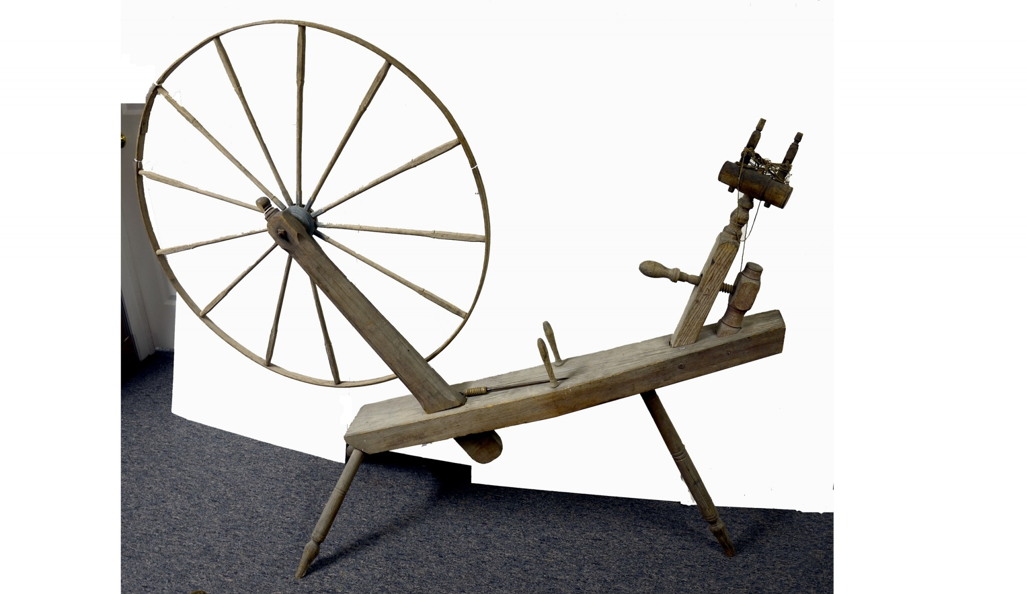 LATE 18TH CENTURY GREAT WHEEL