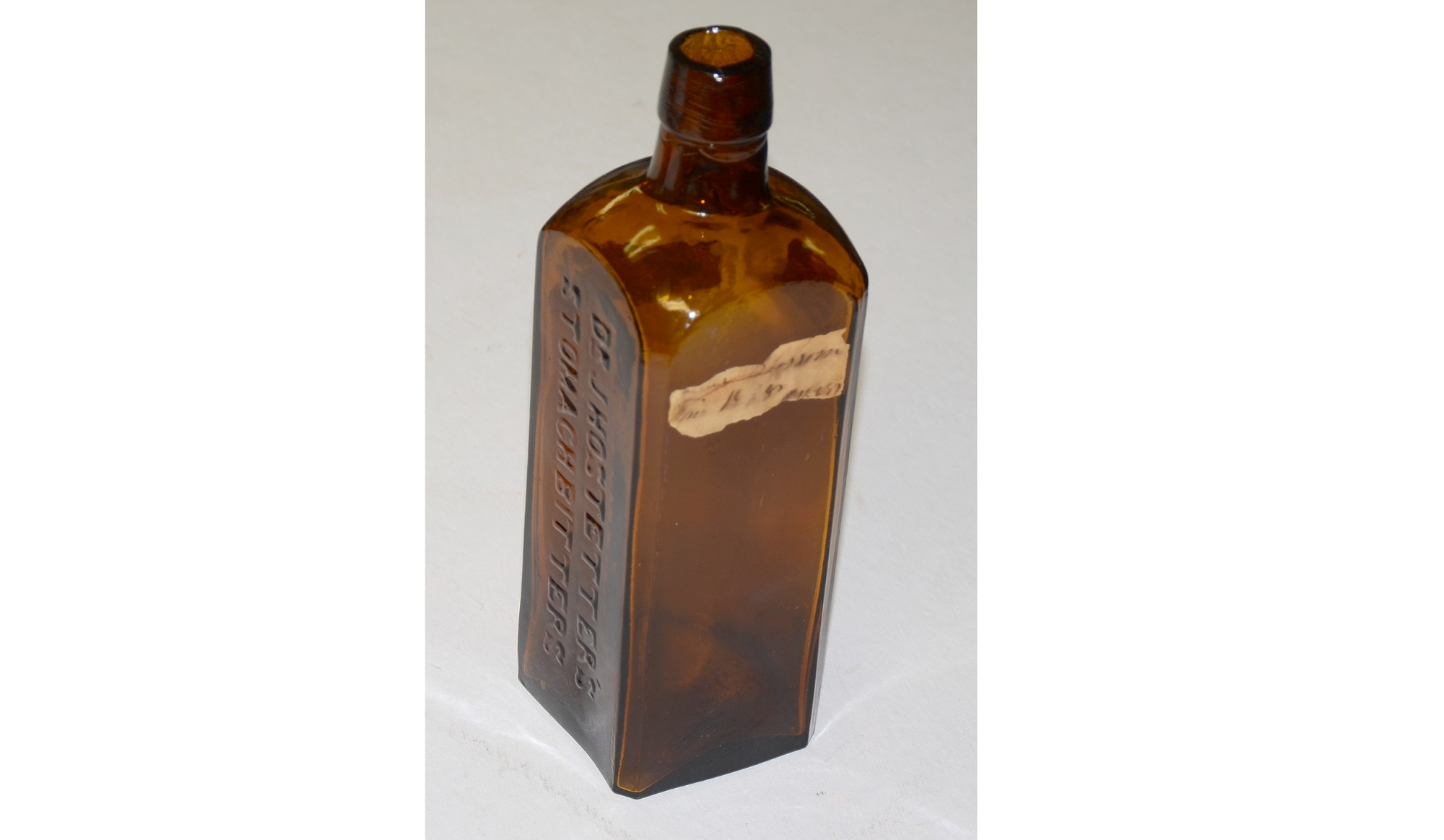 CIVIL WAR ERA BOTTLE- DR. J HOSTETTER'S STOMACH BITTERS