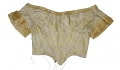 GOLD SILK BROCADE EVENING BODICE