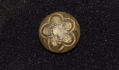 US/CS JACKET CUFF BUTTON RECOVERED AT EAST CAVALRY FIELD, GETTYSBURG