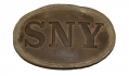 STATE OF NEW YORK BELT PLATE