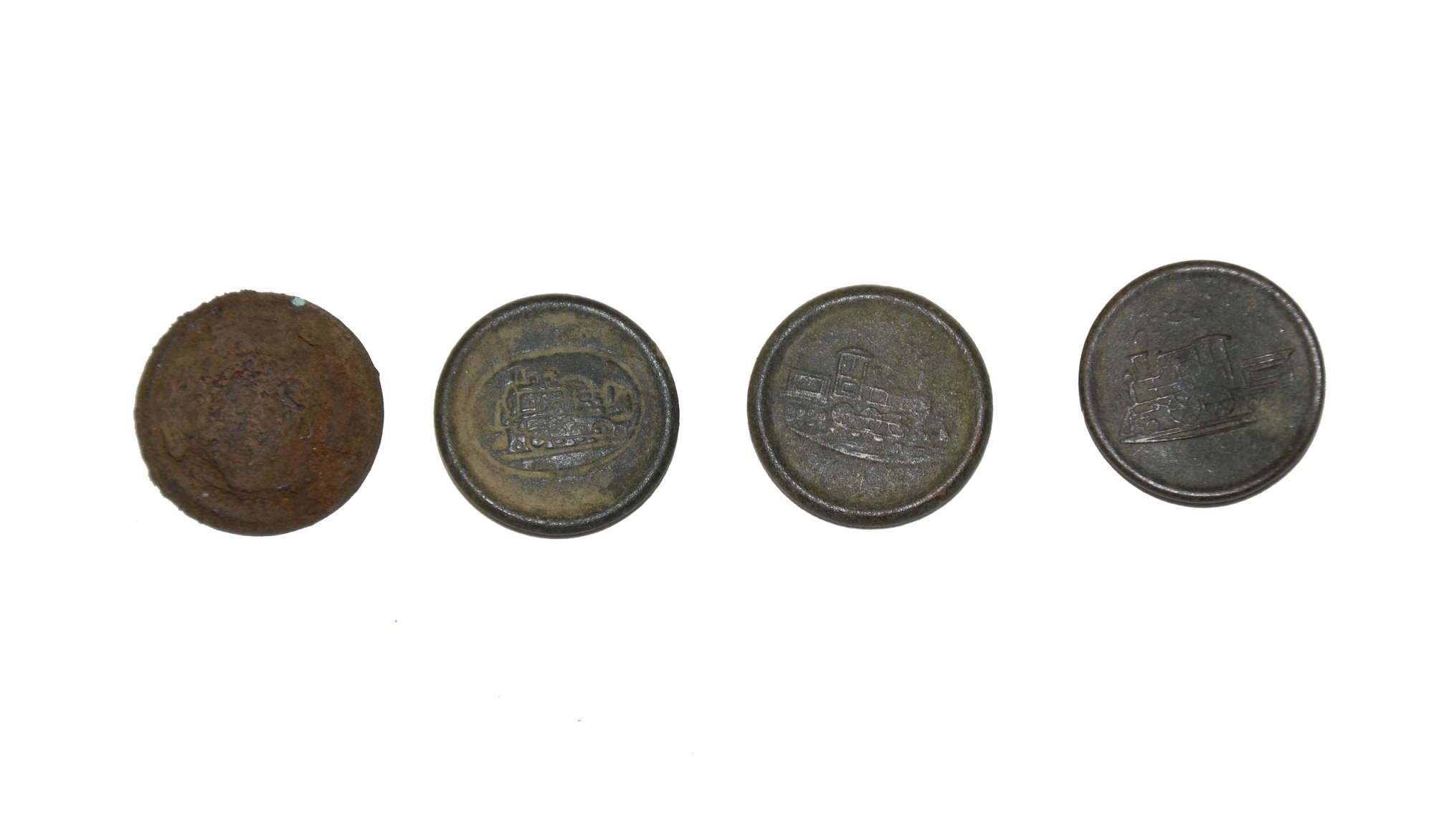 CIVIL WAR RAILROAD BUTTONS