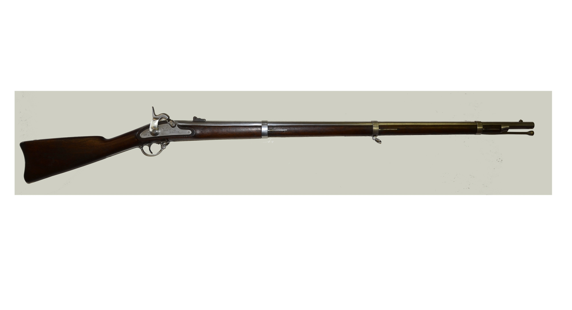 FINE NORFOLK CONTRACT .58 CALIBER MODEL 1861 MUSKET
