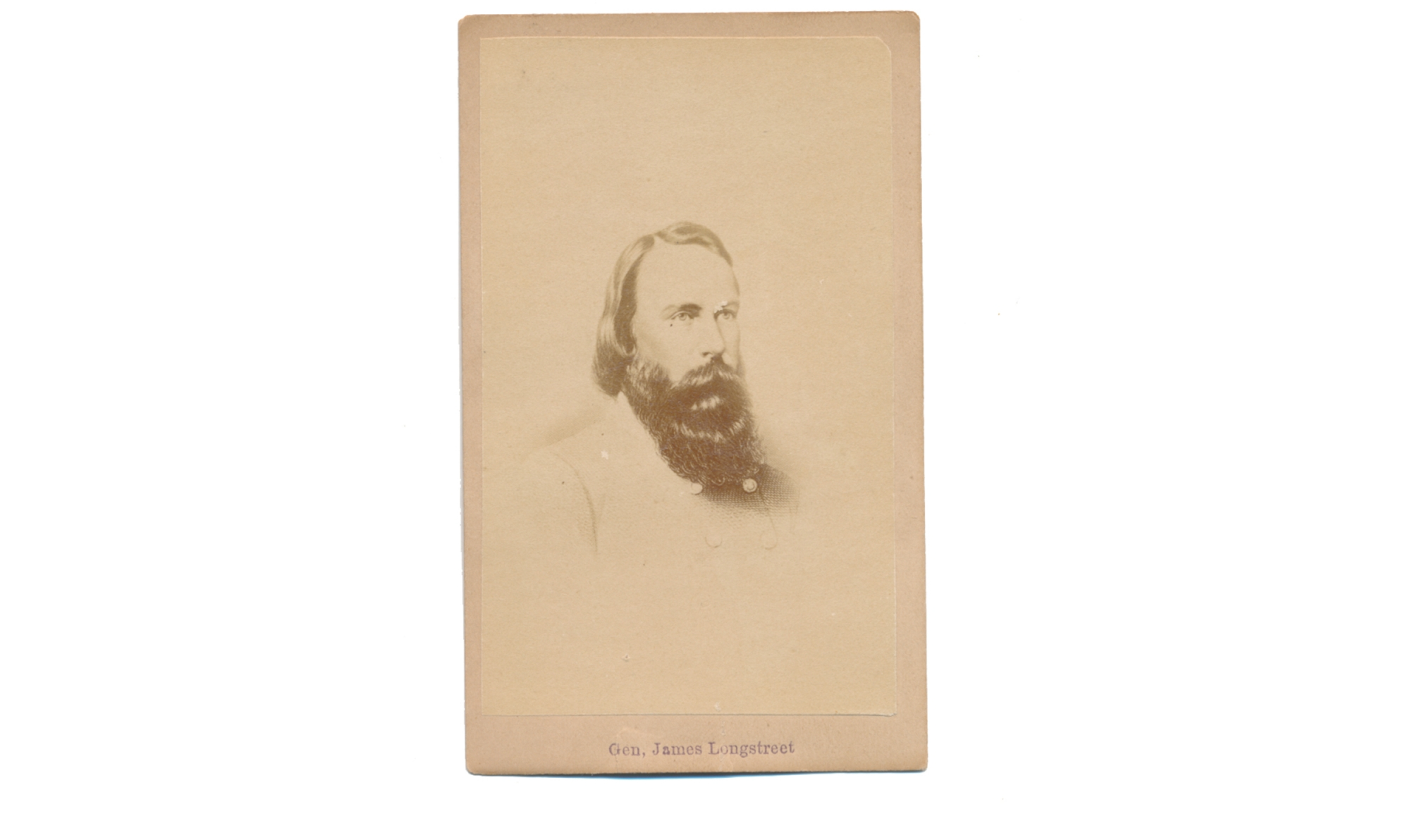 CDV OF CS GENERAL JAMES LONGSTREET