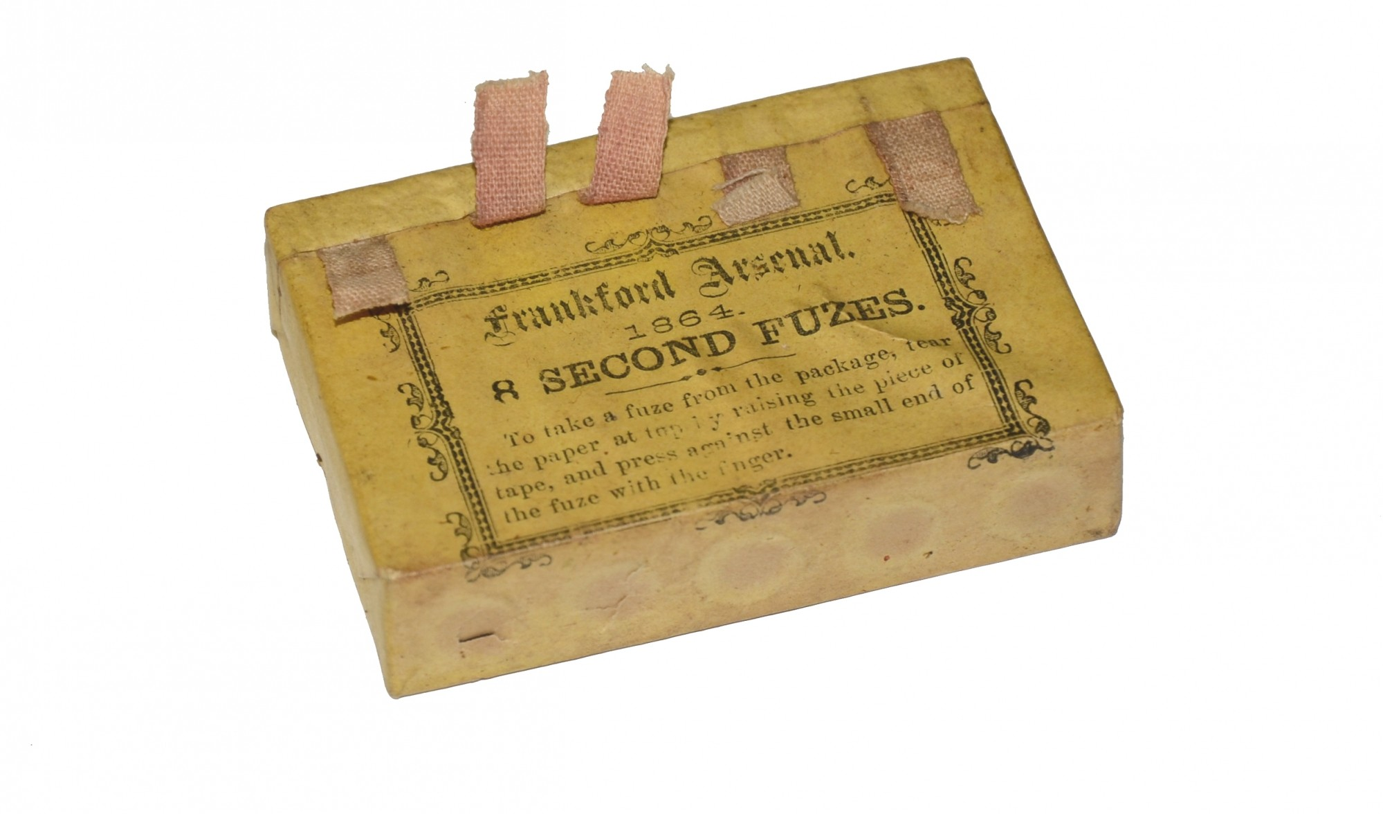 PACKAGE OF ARTILLERY TIME FUSES – FRANKFORD ARSENAL