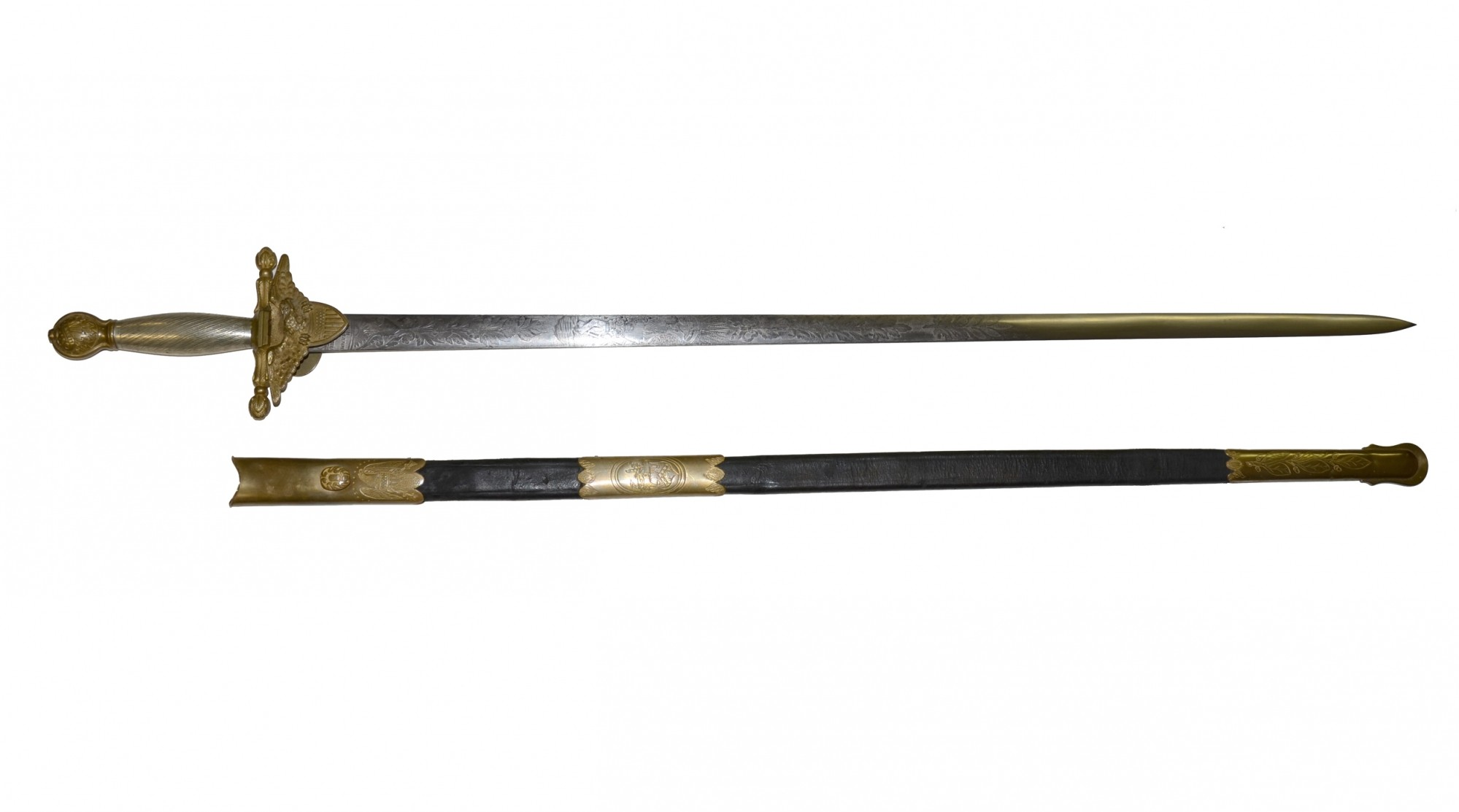 MODEL 1834 US REVENUE MARINE SWORD BY HORSTMANN & SONS