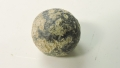 US/CS .69 CALIBER ROUND MUSKET BALL FOUND EAST OF THE STONE WALL IN THE HISTORIC WHEATFIELD AT GETTYSBURG