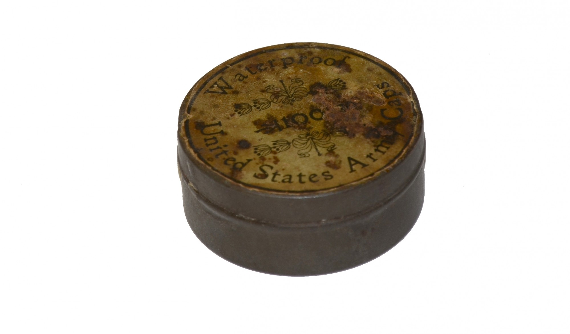 TIN OF PERCUSSION CAPS