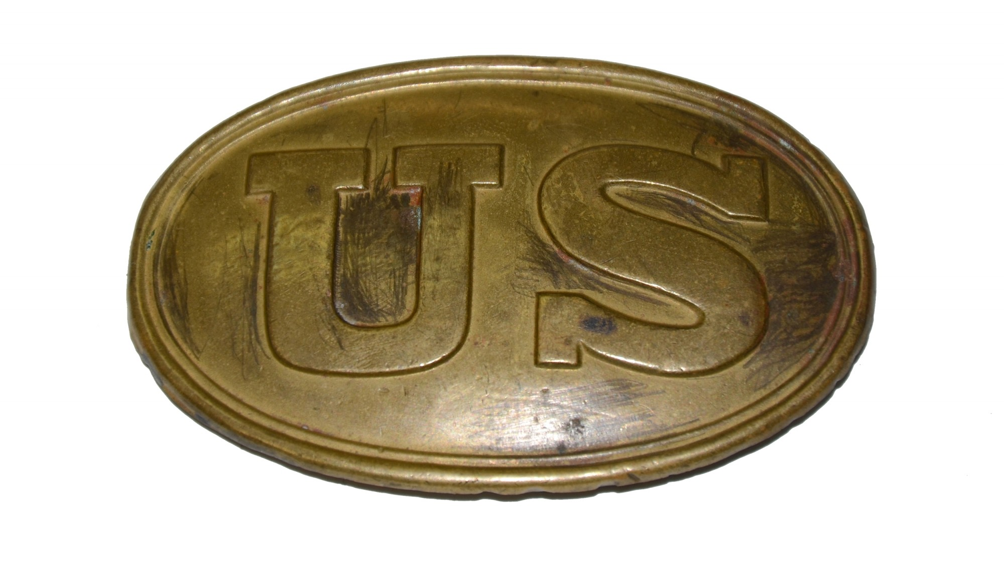 US DRAGOON BELT PLATE 1839 PATTERN, BOYD & SONS