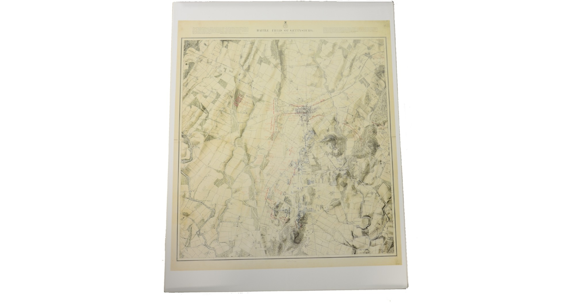 JOHN BACHELDER GETTYSBURG MAP SET - 28 MAPS COVERING THE THREE DAYS OF BATTLE  PLUS EAST CAVALRY FIELD