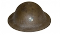 US WORLD WAR ONE MODEL 1917 HELMET WITH PAINTED 4TH CORPS INSIGNIA