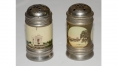JENNIE WADE HOUSE SOUVENIR SALT AND PEPPER SHAKERS