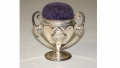 JENNIE WADE HOUSE TROPHY SOUVENIR WITH PIN CUSHION