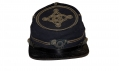 FANTASTIC CHASSEUR STYLE KEPI WITH OFFICER'S EMBROIDERED DEVICE