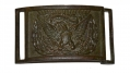 MODEL 1850 OFFICER'S BELT PLATE FROM THE COLLECTION OF MAC MASON