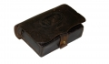 NAVY PISTOL CARTRIDGE BOX -- NEW YORK, 1861