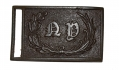 DUG NEW YORK MILITIA RECTANGULAR WAIST BELT PLATE FROM THE MAC MASON COLLECTION