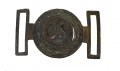 CONFEDERATE TWO-PIECE BELT PLATE