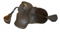 WONDERFUL CONDITIONED MILITIA SADDLE FROM CENTRAL PENNSYLVANIA