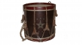 1870'S SNARE DRUM WITH MAINE STAR DECORATION