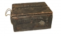 AMMUNITION CRATE IDENTIFIED TO CAPTAIN HARRISON De F. YOUNG OF COMPANY A, 2ND NEW HAMPSHIRE INFANTRY