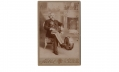 CABINET CARD PHOTOGRAPH OF GEORGE W. REISER, 6th & 20th MASSACHESETTS INFANTRY