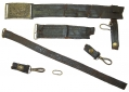 US OFFICER'S BELT RIG FROM THE COLLECTION OF GETTYSBURG RESIDENT HENRY CHRITZMAN