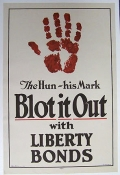THE HUN - HIS MARK, BLOT IT OUT