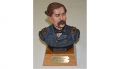 HAND PAINTED BUST STATUE OF GENERAL THOMAS FRANCIS MEAGHER