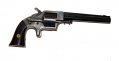 PLANT MANUFACTURING COMPANY, NEW HAVEN, CT FRONT LOADING, CUP-PRIMED LARGE FRAMED ARMY REVOLVER, THIRD MODEL TYPE I