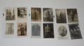 LOT OF 25 WORLD WAR 1 REAL PHOTO GERMAN SOLDIER POSTCARDS - FIELD GEAR AND REGIMENTAL NUMBERS