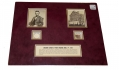 ABRAHAM LINCOLN ASSASSINATION – STRAND OF THE PRESIDENT'S HAIR, AND A WOOD RELIC FROM FORD'S THEATRE
