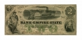 BANK OF THE EMPIRE STATE (STATE OF GEORGIA) $2 NOTE